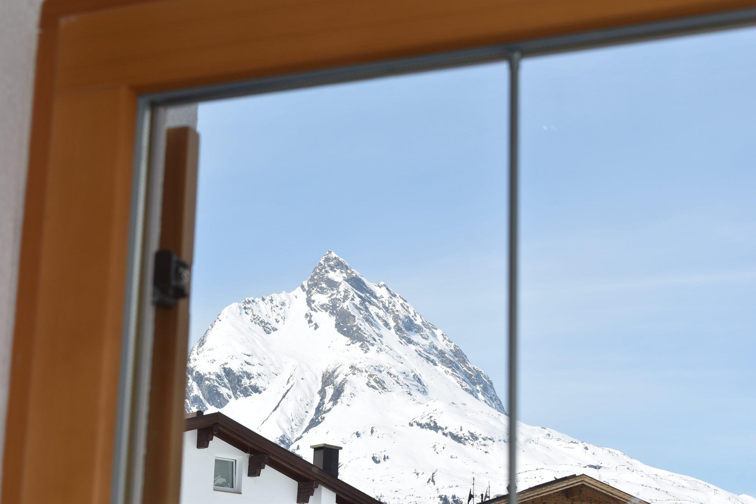 Küche Aussicht Berg